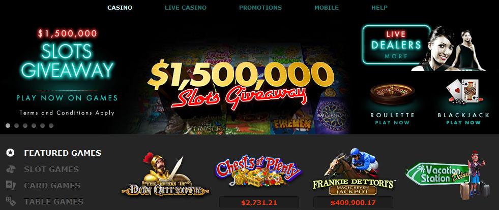 Kuvassa Bet365:n casino.