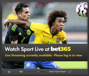 Bet365 TV näyttää satoja lähetyksiä päivittäin.