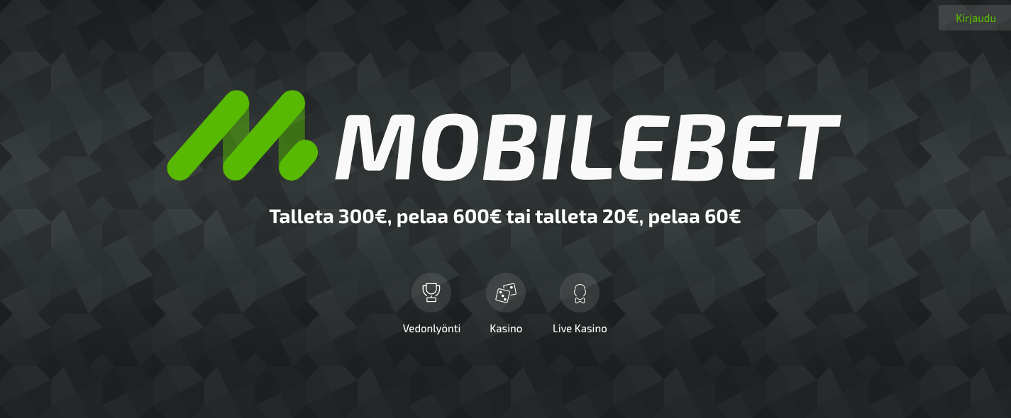 Mobilebet mobiilivedonlyönti